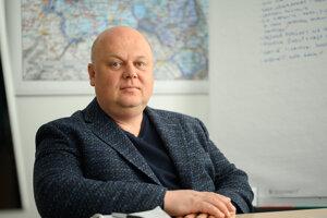 Dušan Krajči, obchodný riaditeľ poľnohospodárskej skupiny SANAGRO.