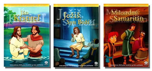Animované biblické príbehy Novej zmluvy