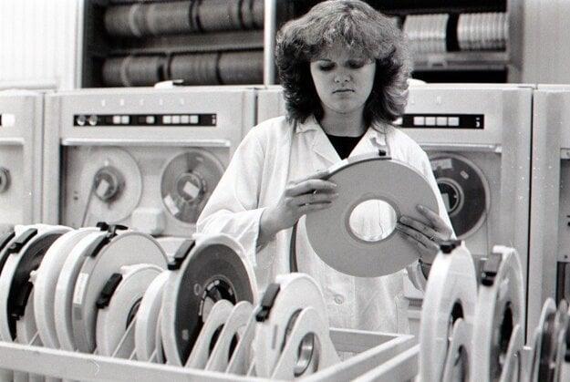 Podnik výpočtovej techniky v Nitre (1984).