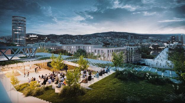 Amfiteáter na streche poskytne nové výhľady na dominanty mesta