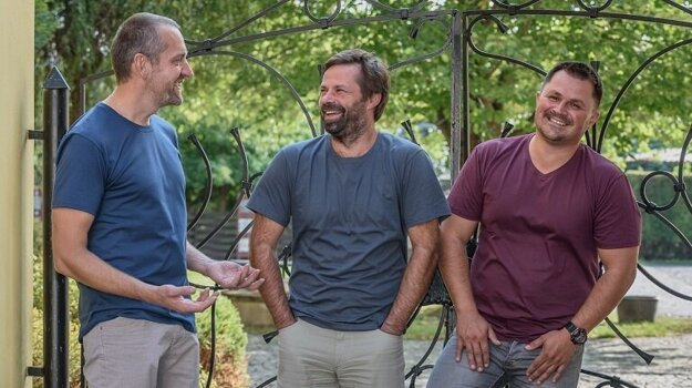 Za CityZen stojí trojica kamarátov: Pavel Hrstka, René Němeček a Martin Burkoň (zľava).