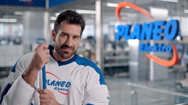Aj Boris Valábik nakupuje v PLANEO Elektro
