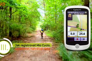 Ako zaregistrovať Mio Cyclo a ďalšie