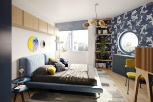 BLoKK ponúka unikátne interiéry.