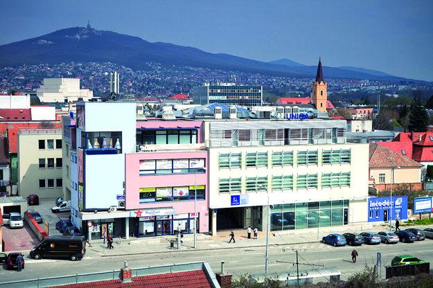 Budova sídla spoločnosti UNIQA Group Service Center Slovakia