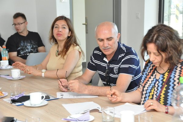 Účastníci projektového stretnutia na pôde Výskumného centra AgroBiotech SPU v Nitre
