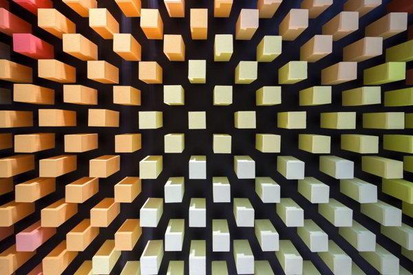 Color Studio Baumit, Bratislava; sebastian nagy architekts v spolupráci s Jozefom Červeňom