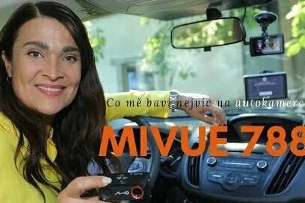 Autokamera Mio MiVue 788 Connect - skvělý záznam, radary a spojení s telefonem!
