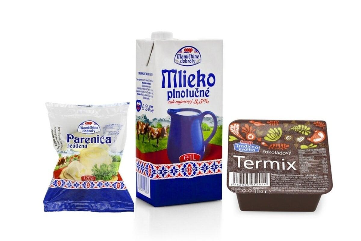 2865333002fbb Najlepšie mliečne produkty vlastnej značky má COOP Jednota ...