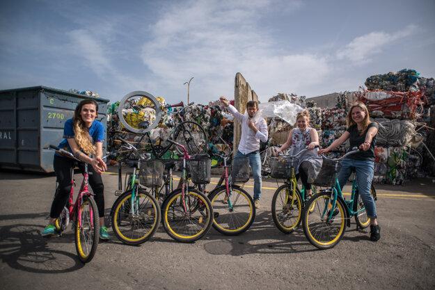 Projekt Zdieľané bicykle za dobré skutky realizuje Green Cubator, n.o.