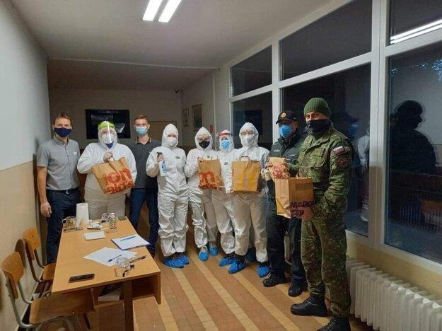 Franšízový partner McDonald´s podal pomocnú ruku aj jedlom z reštaurácie v Prešove počas víkendového celoplošného testovania