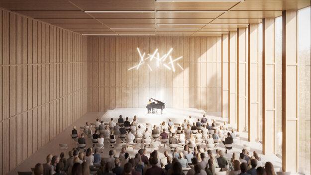 Kultúrne a kongresové centrum bude reprezentatívne a multifunkčné
