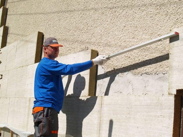 Zateplenie fasády minerálnou vlnou