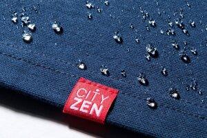 Bavlna, z ktorej je tričko CityZen vyrobené, je upravená špeciálnou technológiou, ktorá neprepúšťa pot navonok a tekutiny dovnútra.