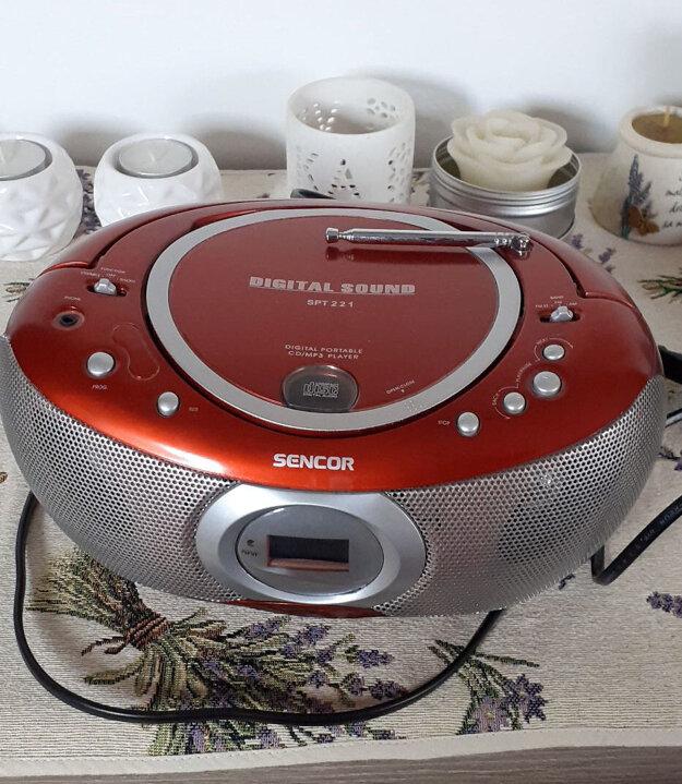 CD prehrávač je aj po mnohých rokoch stále funkčný