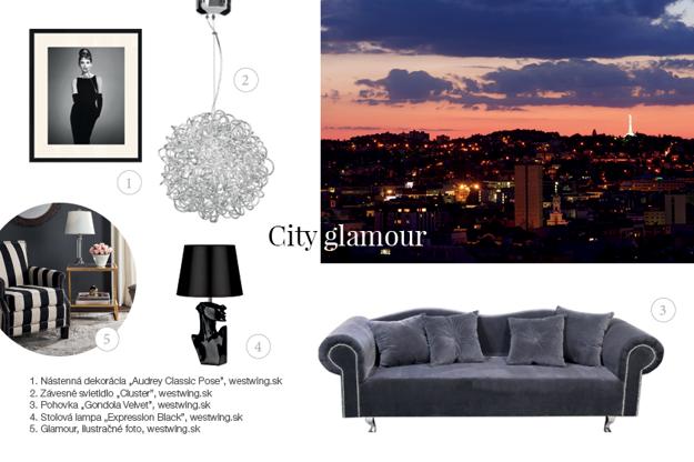 Mestský štýl s prvkami luxusu