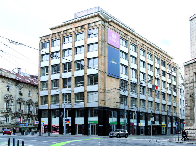 Budova spoločnosti v historickom centre Bratislavy