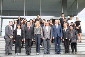 Prijatie delegácie z NIDA Bangkok