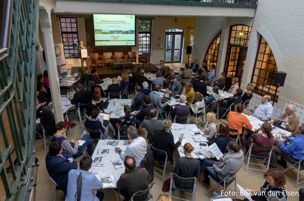 Diskusia účastníkov záverečnej konferencie projektu RECARE