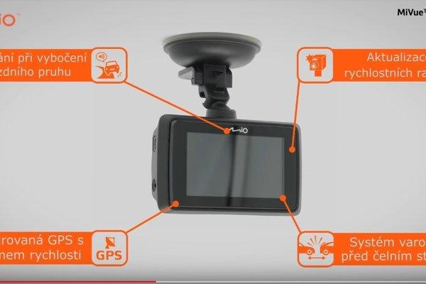 Riešenie kolízií áut - exkluzivní autokamera MiVue 766 WiFi