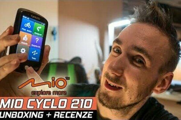 Mio Cyclo 210 - recenze youtubera Majkův Svět