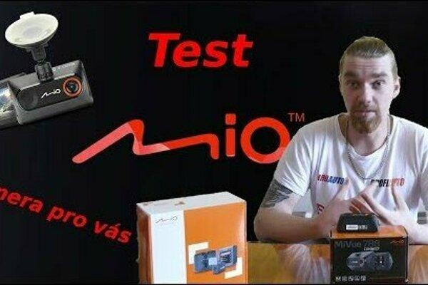 Autokamera Mio MiVue C380 Dual - soutěž s youtuberem Bez Komprese!