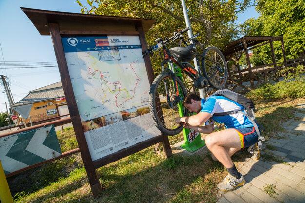 Tokaj poskytuje skvelé možnosti na cykloturistiku.