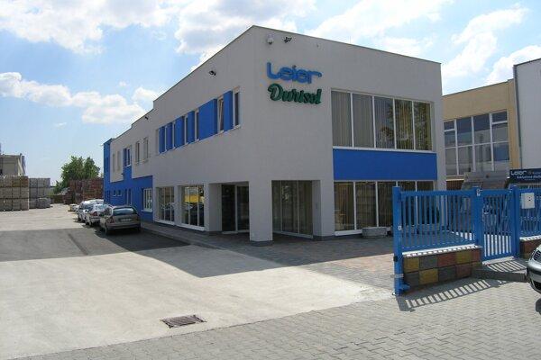 centrála a závod spoločnosti Leier Baustoffe SK v Bratislave