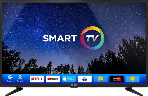 FULL HD SMART TV Sencor teraz výhodne v Planeo Elektro