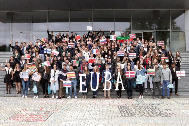 Takto pred rokom v zimnom semestri EUBA vítala zahraničných študentov