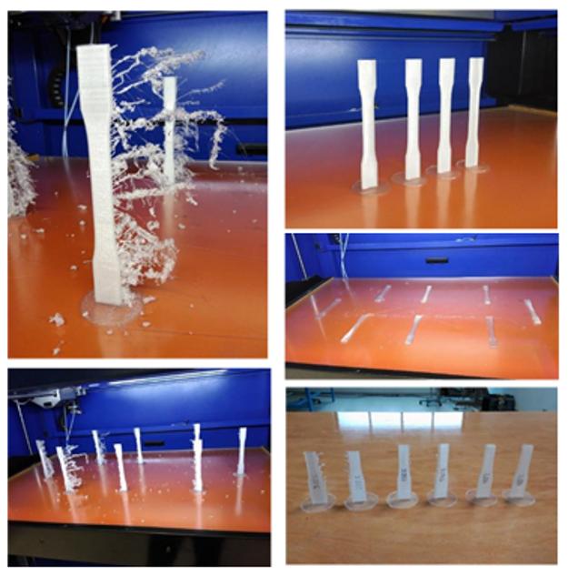 Tlač 3D vzoriek v laboratóriu Mondragom University v Španielsku.