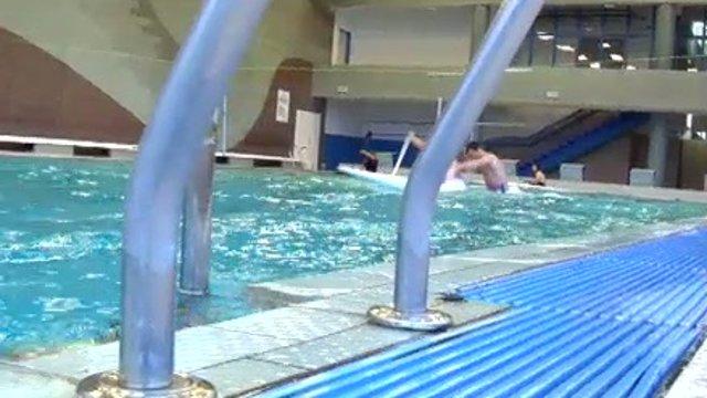 Hochschornerovci jazdia v bazéne. Pozrite si ich tréning