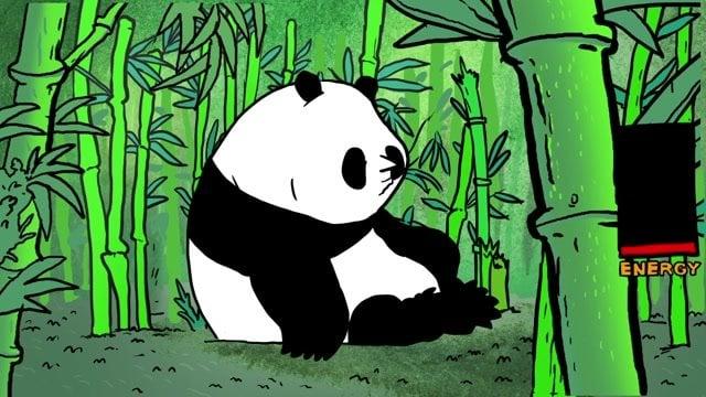 Krátky animovaný film Pandy