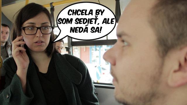 Lýdia radí: Ako sa nedá sadnúť v autobuse