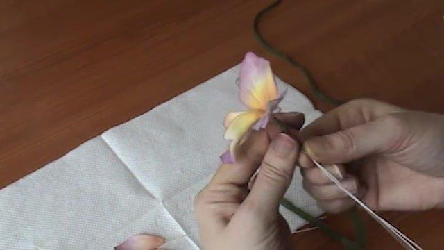 Torty pre začiatočníkov: Ako sa robí orchidea