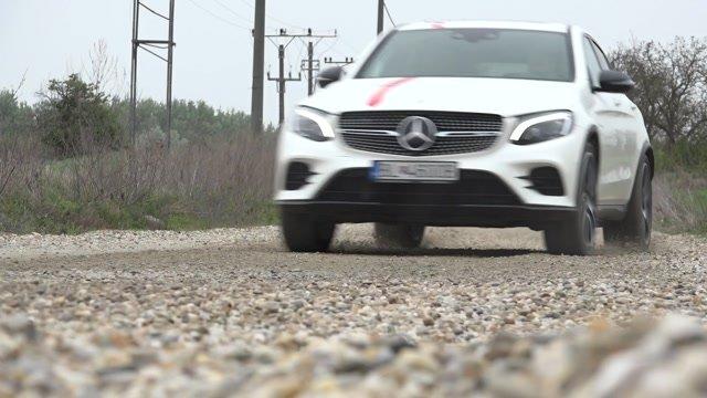 AMG GLC kupé sa na štrku zmenilo na rallye špeciál