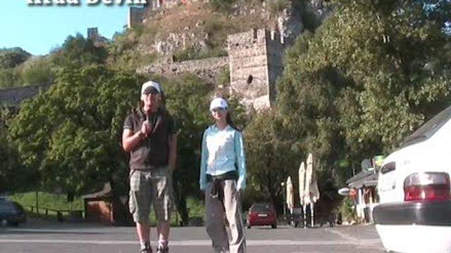 Na korčuliach popri Morave