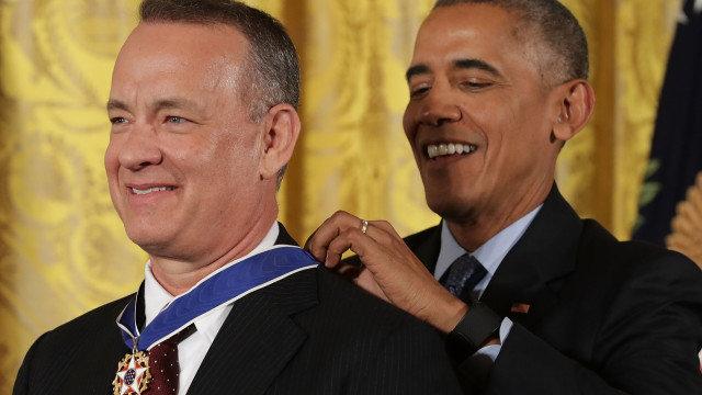 Tom Hanks aj Robert De Niro dostali najvyššie prezidentské vyznamenanie