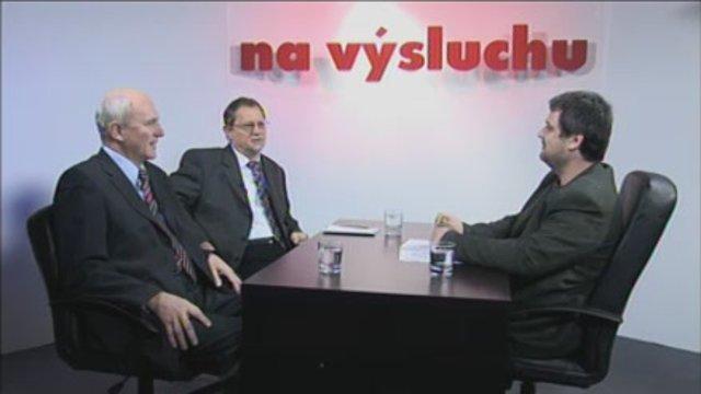 František Mikloško a Sergej Kozlík na výsluchu