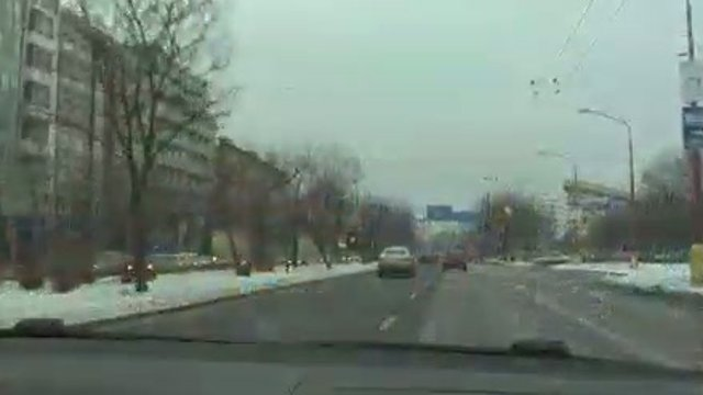 Problém s jazdnými pruhmi