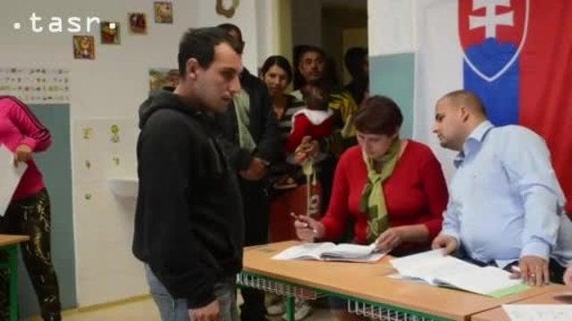 Voľby v trebišovskej osade prilákali veľa Rómov