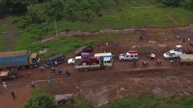 Cesta Kambodžou mohla byť v poriadku, keby bol asfalt
