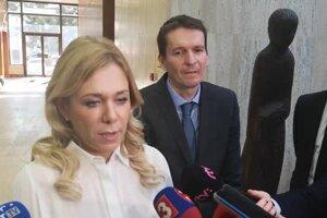 Saková vysvetľovala, prečo presunula časť spisu z vyšetrovateľov na inšpekciu ministerstva