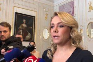 Ministerka Saková oznámila koniec svojho poradcu Gašpara pred stretnutím s prezidentom
