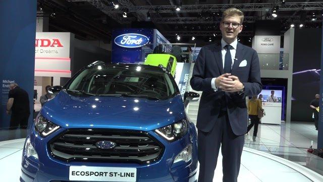 Ford vo Frankfurte predstavil škaredý Mustang a EcoSport, ktorý je ako chladnička