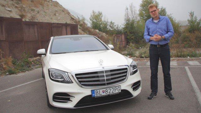 Vyskúšali sme Mercedes triedy S, auto, ktoré ukazuje budúcnosť