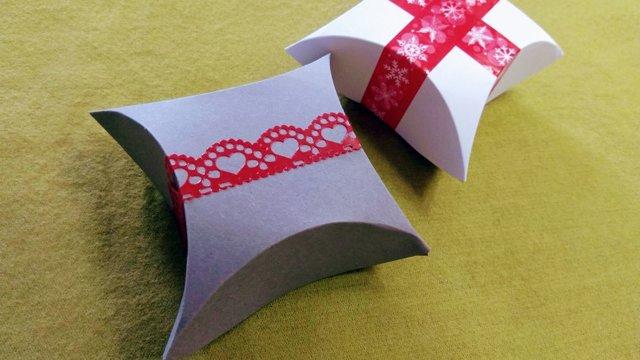Postup na jednoduchú papierovú škatuľku