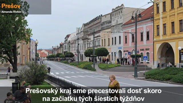 Slovensko za 42 dní: Krajina prešovského regiónu