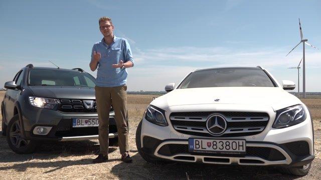 Kombi so zvýšeným podvozkom ponúka Dacia aj Mercedes. Hľadali sme ich výhody