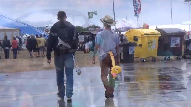 Ako prečkať dážď na Pohode